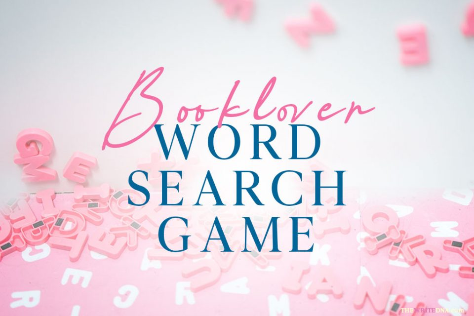 GAMES - Word Search - Romance Books - Booklovers