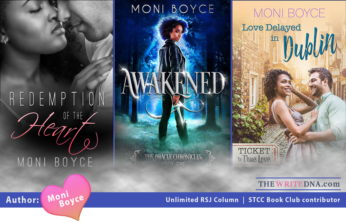 Romance Books: Author Moni Boyce