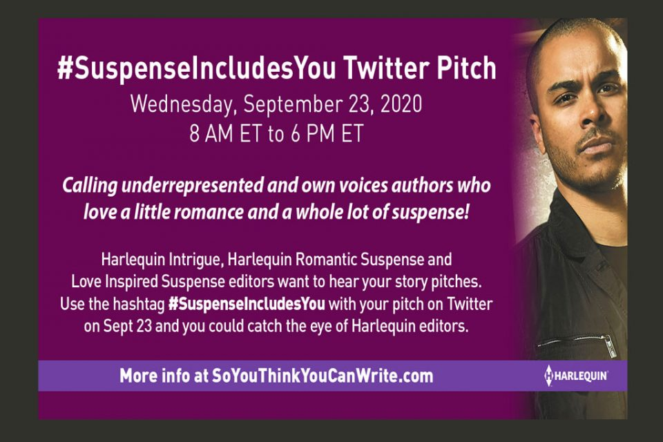 Pitch Harlequin on Twitter: Seeking African-American Black Authors #SuspenseIncludesYou