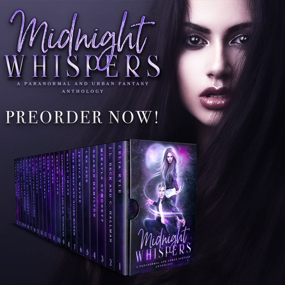 FANTASY WITH ROMANCE BOOKS: Midnight Whispers: A Paranormal and Urban Fantasy Anthology